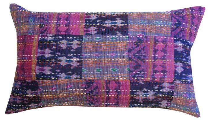 Payal 14x24 Pillow, Eggplant/Multi