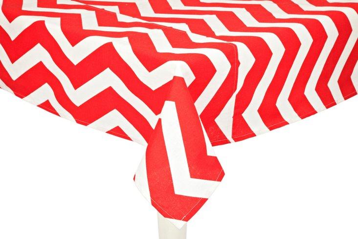 Chevron Tablecloth