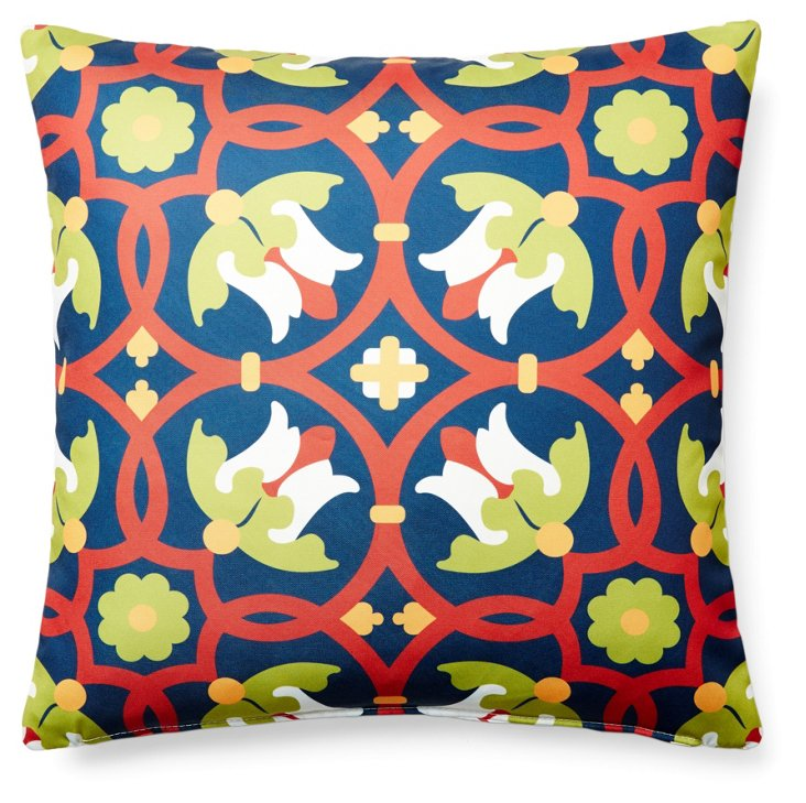 Agios 20x20 Outdoor Pillow, Multi