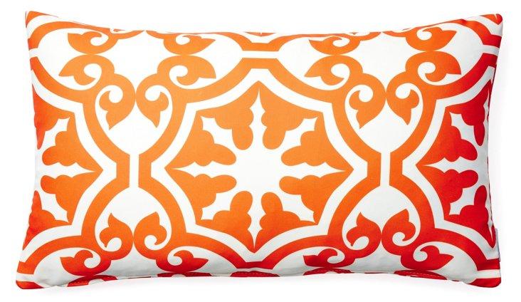 Athos 14x24 Outdoor Pillow, Orange