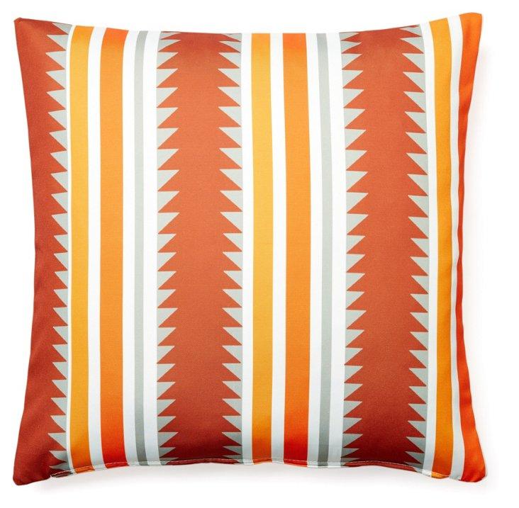 Sedona 20x20 Outdoor Pillow, Orange