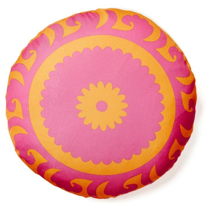 """Amer 16"""" Outdoor Pillow, Pink"""