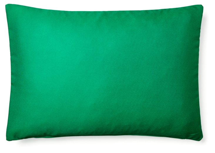 Solid 14x20 Outdoor Pillow, Green