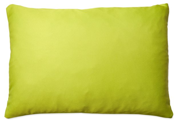 Solid 14x20 Outdoor Pillow, Lime