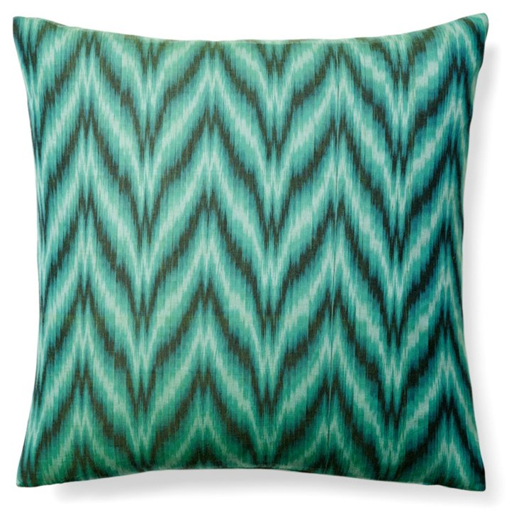 Belvedere 20x20 Pillow, Green