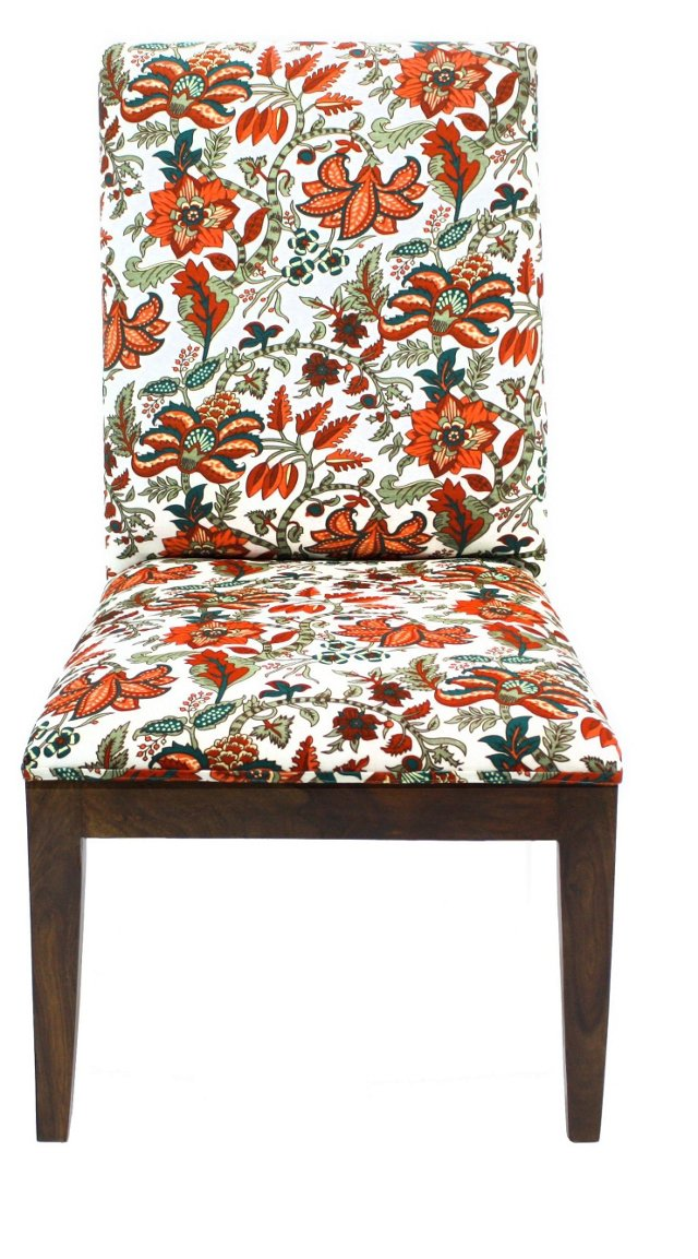Veronica Chair, Orange/Multi
