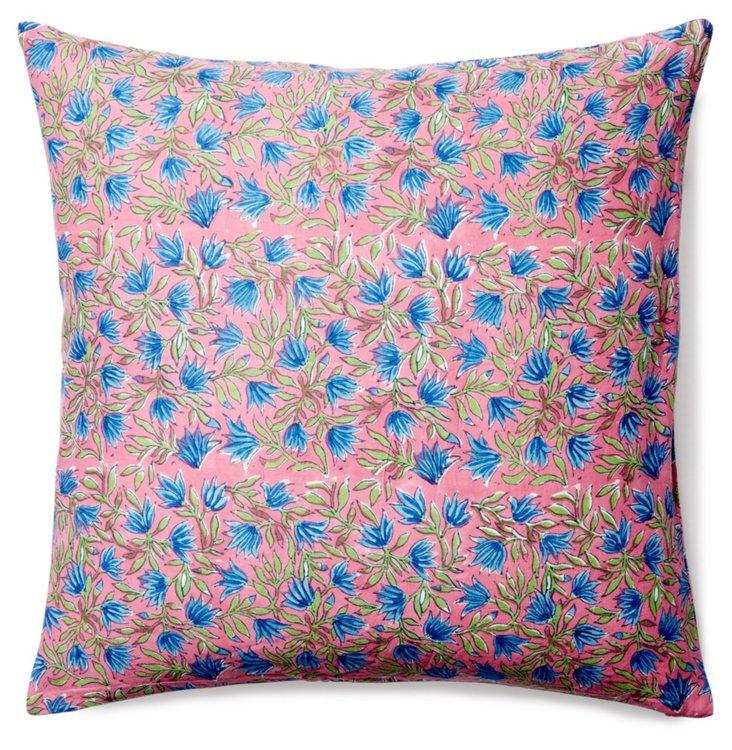 Pomona 20x20 Cotton Pillow, Multi