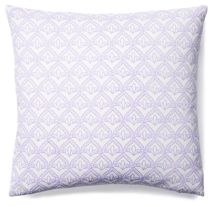 Pismo 20x20 Cotton Pillow, Lavender