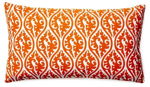 Tania 14x24 Cotton Pillow, Orange