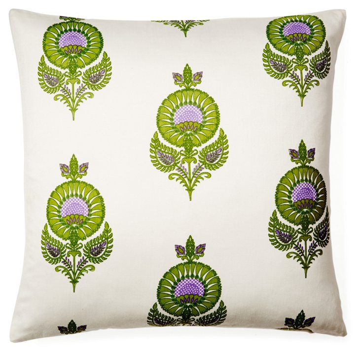 Uma 20x20 Cotton Pillow, Multi