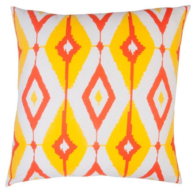 Helios 20x20 Cotton Pillow, Multi