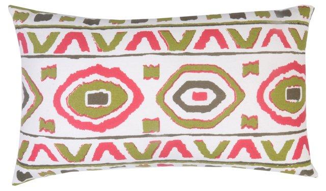 Metzli 14x24 Cotton Pillow, Multi