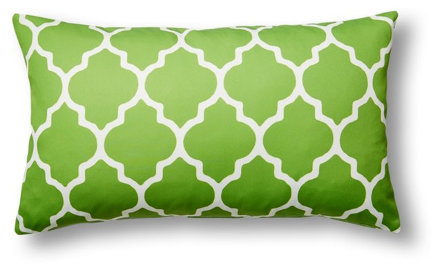 Sonoma 14x24 Outdoor Pillow, Lime