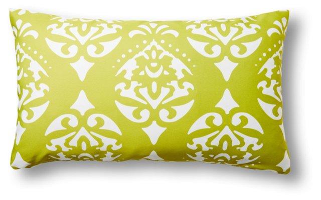 Astoria 14x24 Outdoor Pillow, Lime