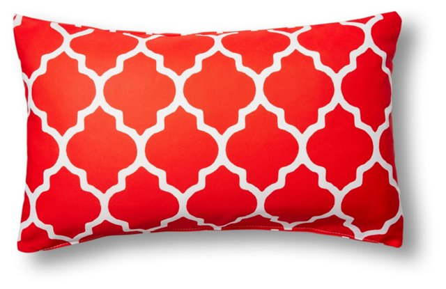 Sonoma 14x24 Outdoor Pillow, Red
