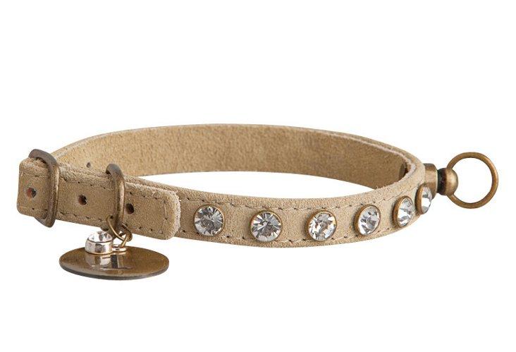 X-Small Rhinestone Collar, Clear