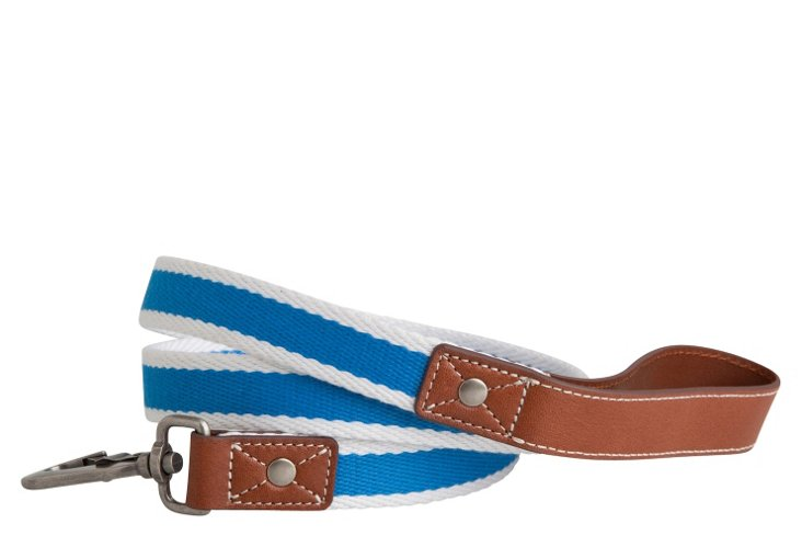 Rugby Leash, Blue