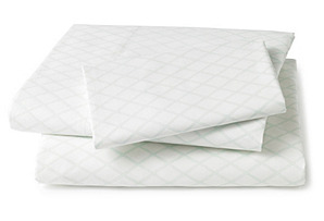 Marquise Sheet Set, Robin's-Egg