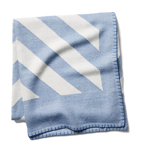 Grinda Throw, Periwinkle