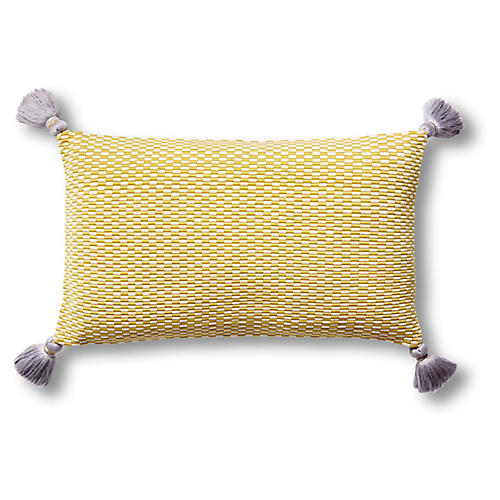 Ella 12x20 Lumbar Pillow, Citrus