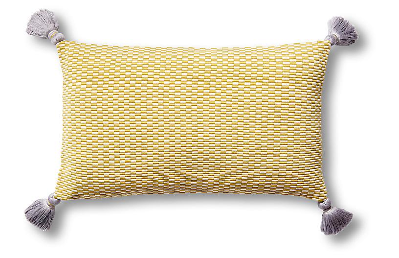 Ella 12x20 Lumbar Pillow, Citrus