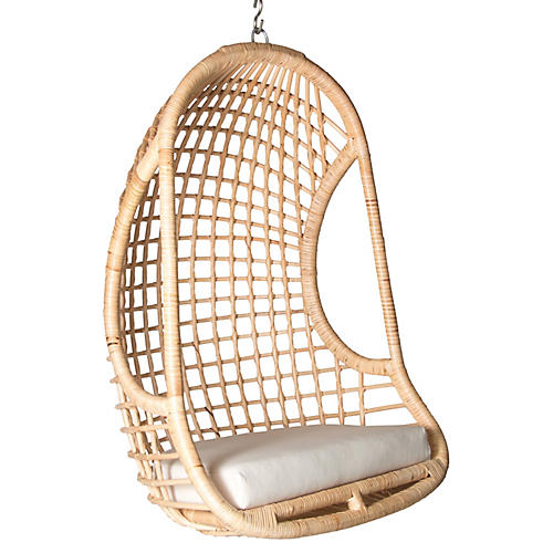 Troy Hanging Chair, Natural