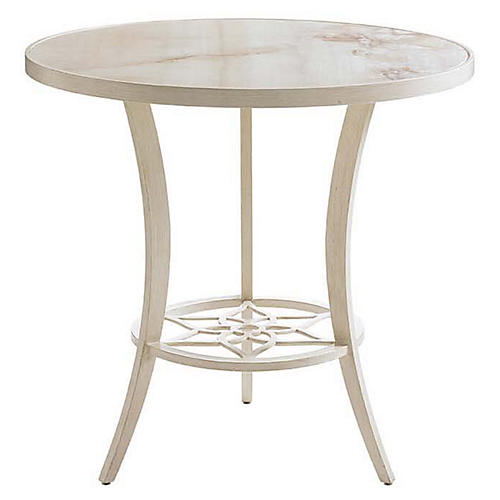 Misty Garden Bistro Table, Umber