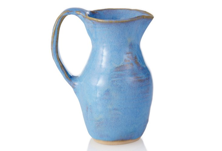 Small Pitcher, Blue