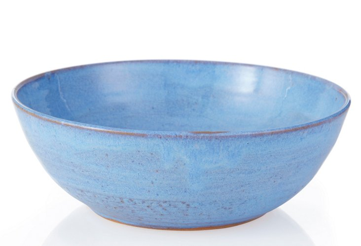 Serving Bowl, Blue