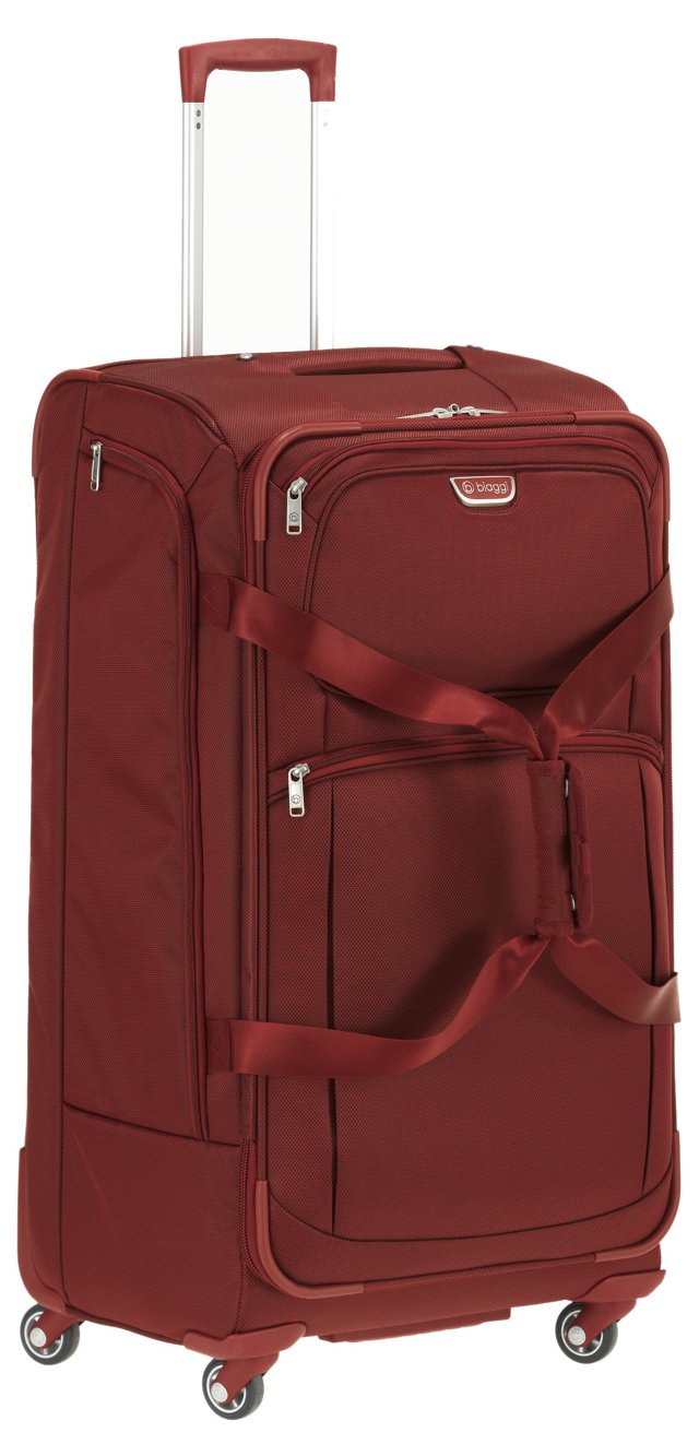"""31"""" Foldable Spinner Duffel, Red"""