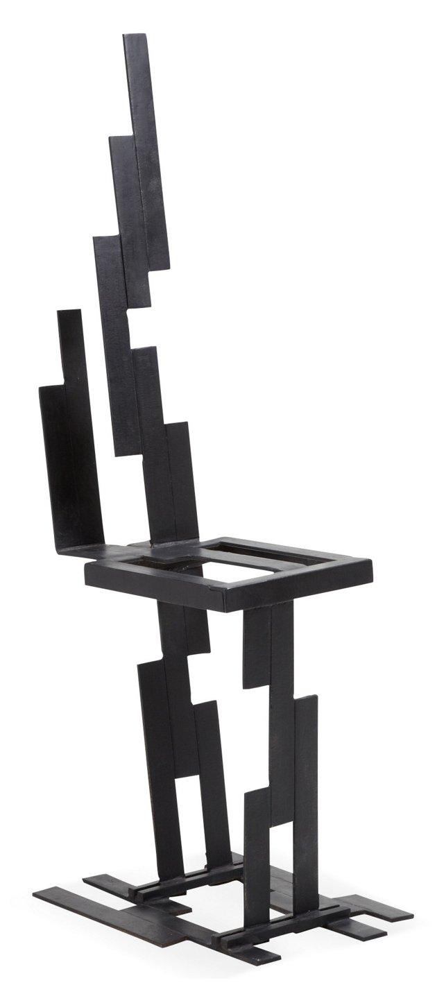 Norbert Kimmel Steel Chair