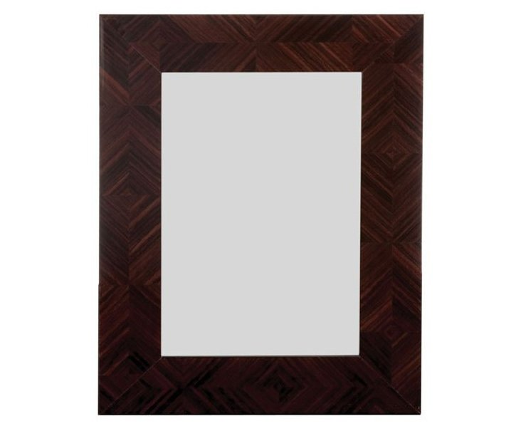 Herringbone Frame, 5x7, Deep Brown