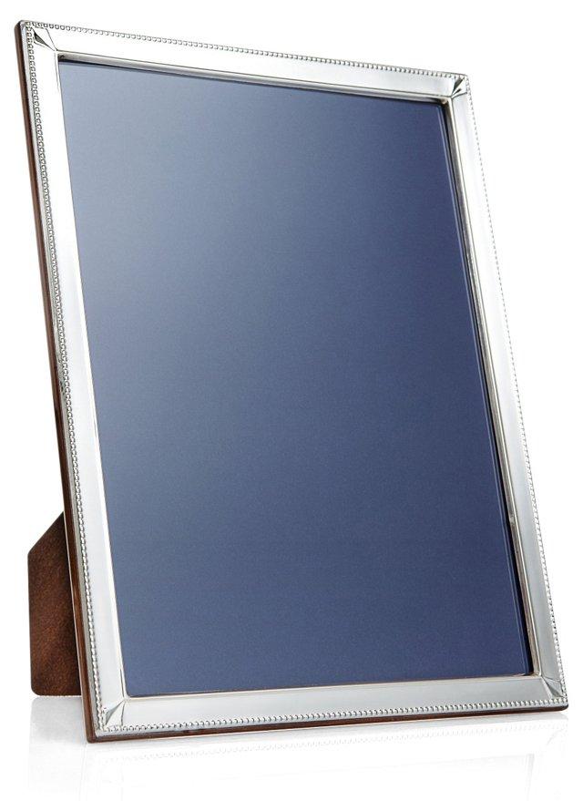 Sterling Silver Diamond Frame, 8x10