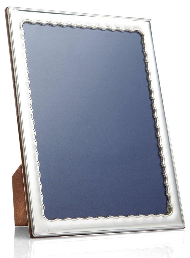 Sterling Silver Wavy Frame, 8x10