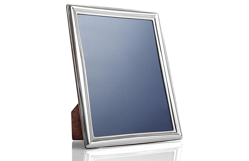 Sterling Silver Thin Frame 5x7 Picture Frames Home Accents