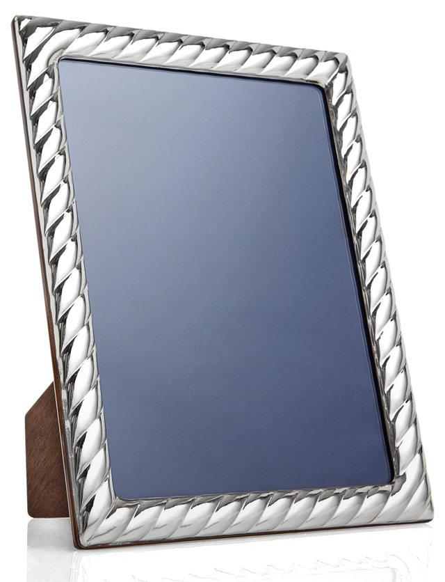 Sterling Silver Swirl Frame, 4x6