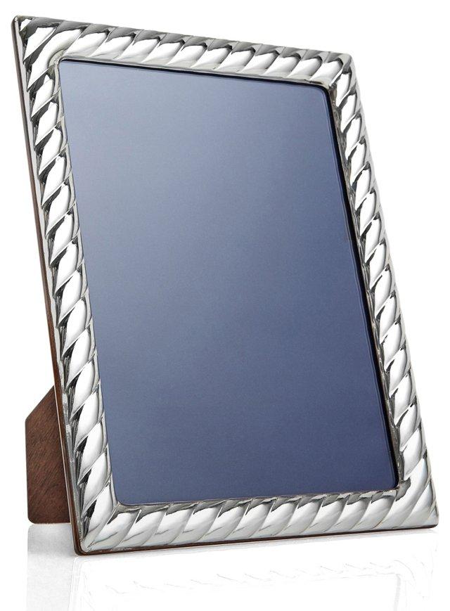 Sterling Silver Swirl Frame, 8x10