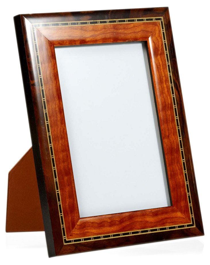 Two-Tone Frame, 8x10, Brown