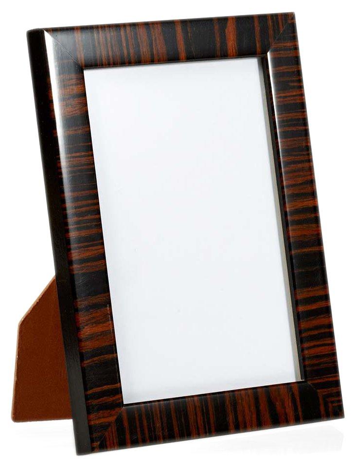 Wenge Parquet Frame, 4x6, Brown
