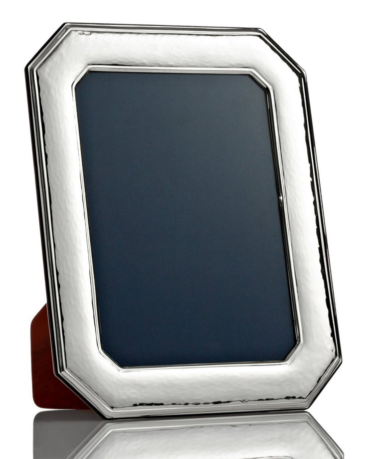 Octagonal Sterling-Silver Frame, 4x6