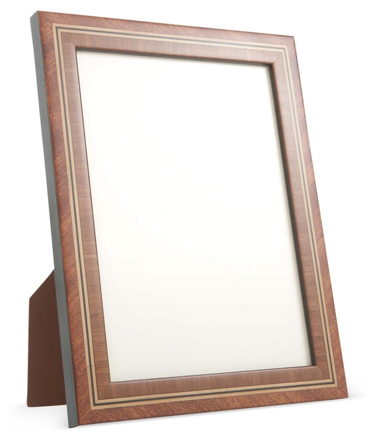Antiqued Mahogany Frame, 5x7, Brown