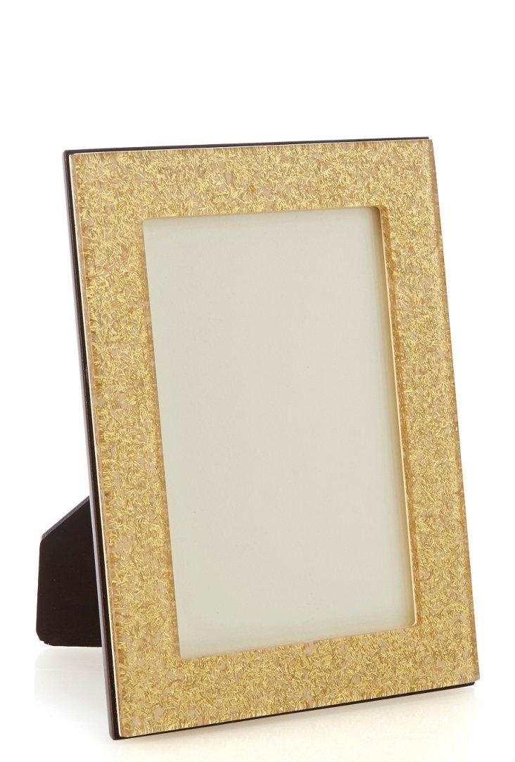 24 Carat Gold Flecked Frame, 4x6, Gold