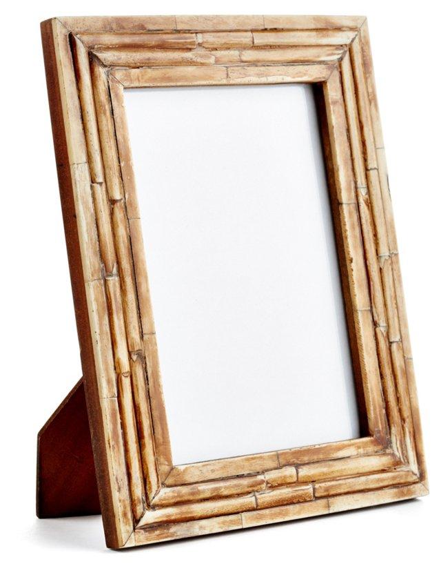 Raised Interior Frame, 5x7, Brown