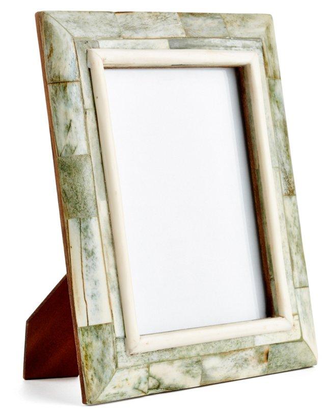 Bombay Sloped Frame, 5x7, Green