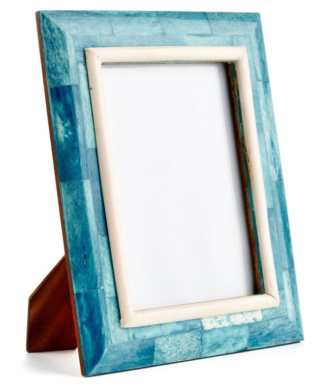 Bombay Sloped Frame, 4x6, Blue
