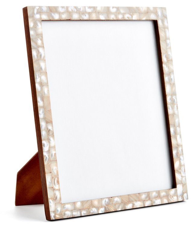 Mother-of-Pearl Frame, 8x10, Pink