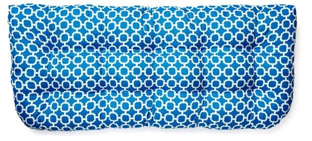 Holly 19x44 Bench Cushion, Blue