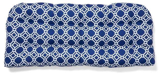 Ross 19x44 Bench Cushion, Blue