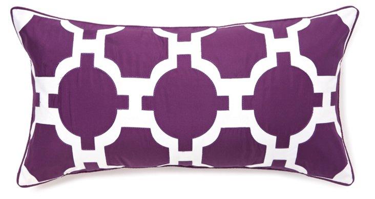 Garden 13x25 Pillow, Purple