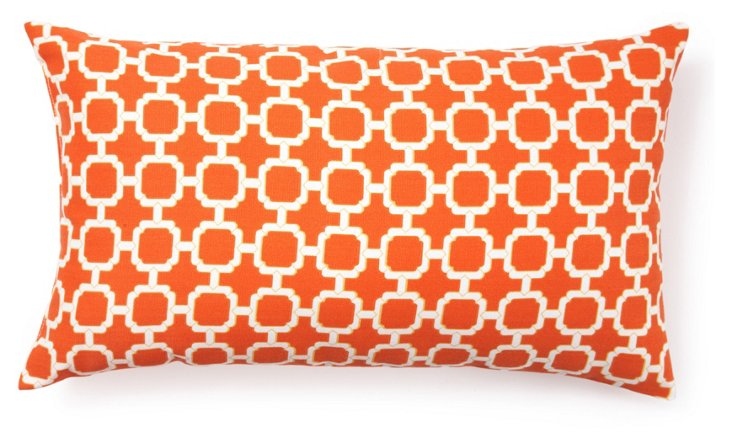Holly 11x20 Outdoor Pillow, Orange